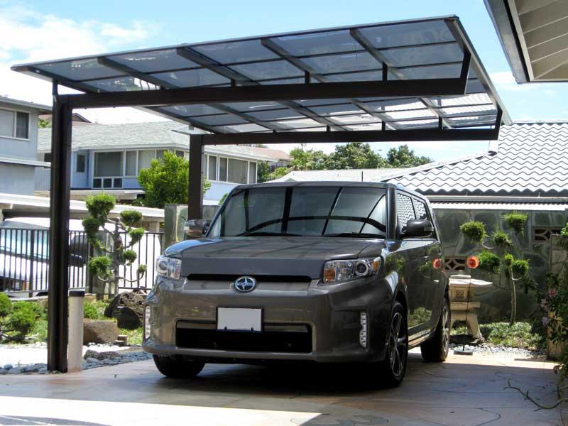 Aluminum roof - carport