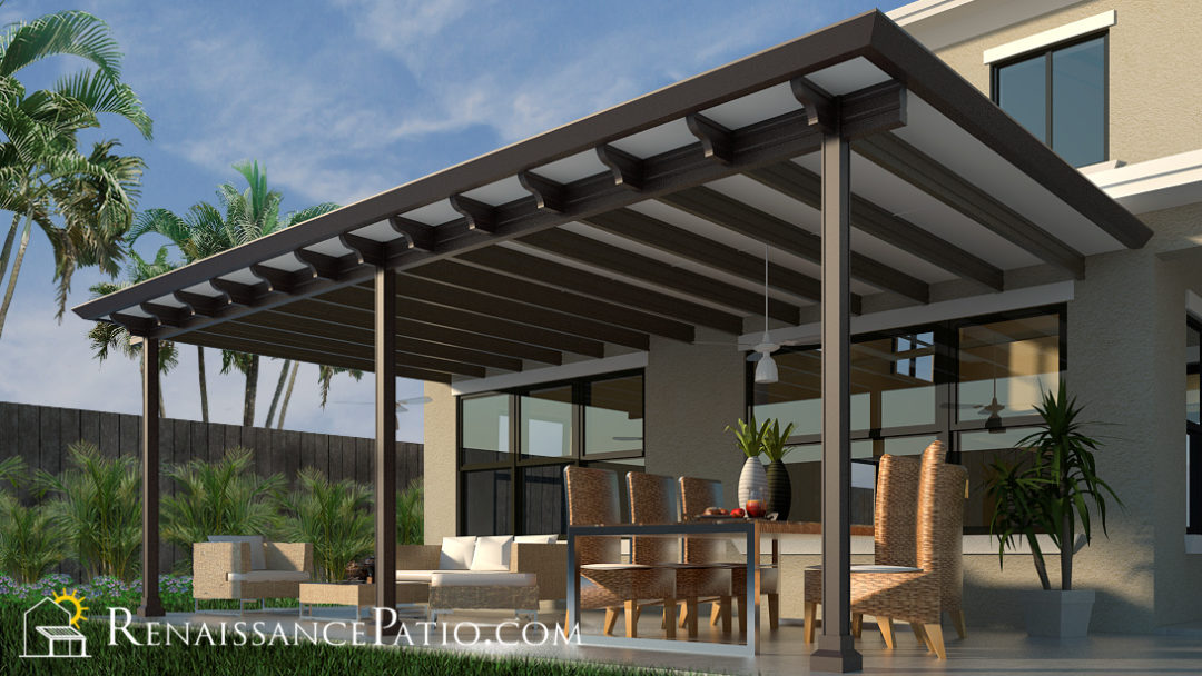 Renaissance patio-roofing rendering